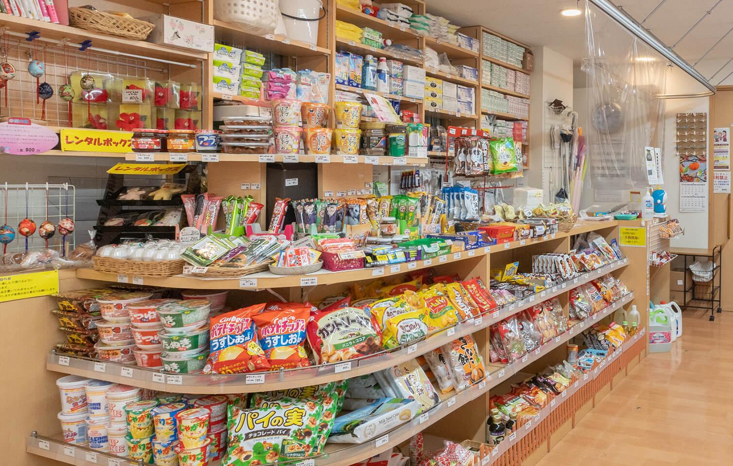 売店の風景